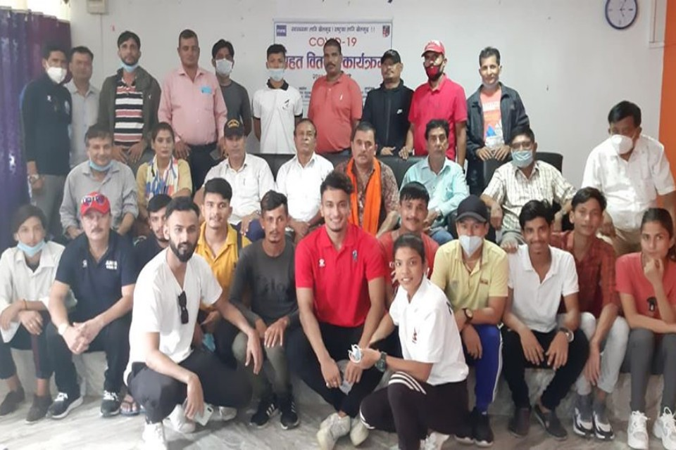 Kanchanpur DFA Provides COVID Relief To Players, Referees & Coaches