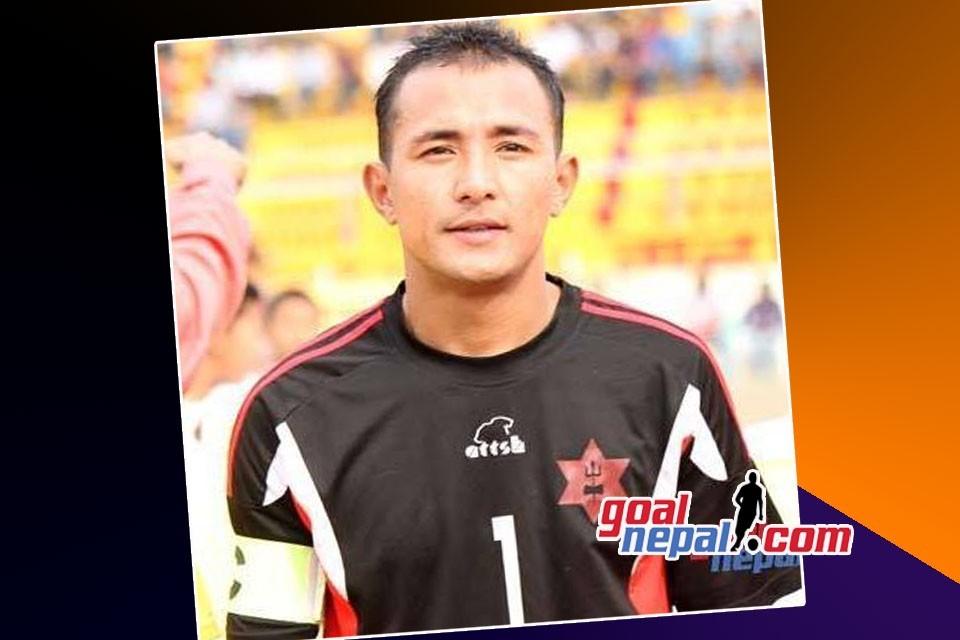 Former Nepal International GK Bikash Malla Appointed National Team GK Coach