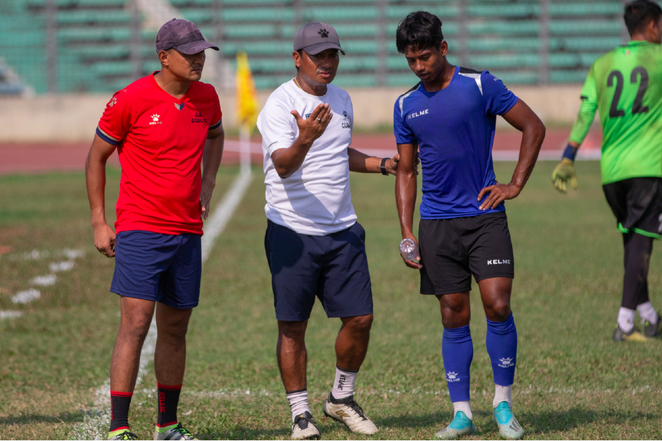 Nepal Completes Prep For Second Friendly Match Against Bangladesh