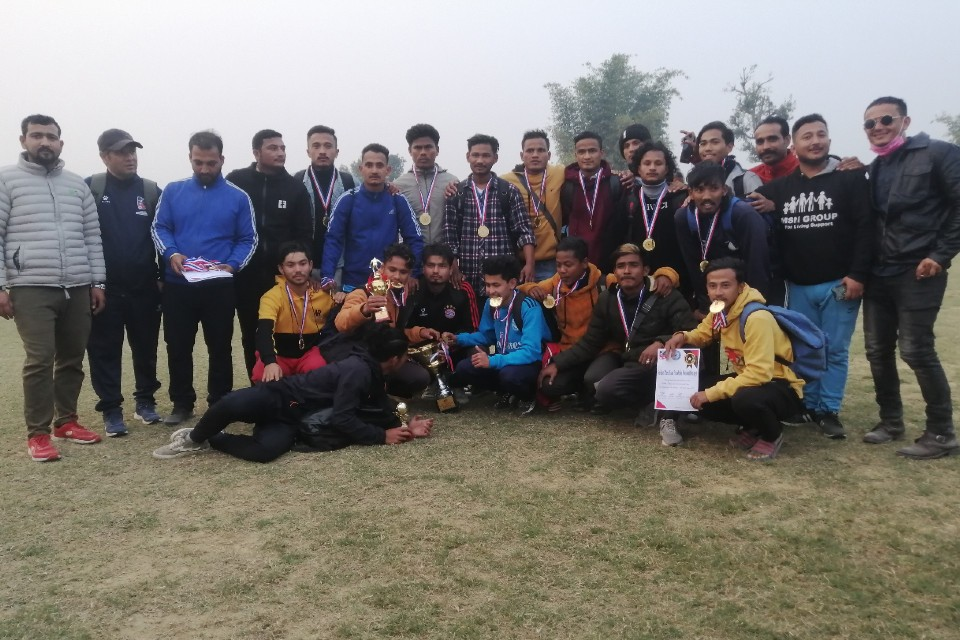 Kailali: Nisarga Star City Wins Farwest Province League; Qualifies For President League