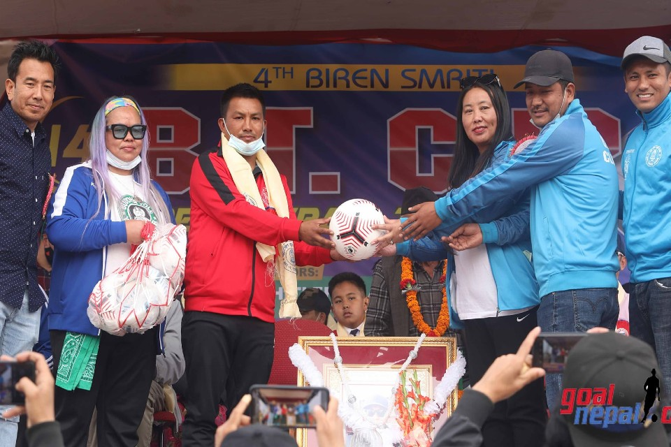 Kaski: 4th Biren Memorial 14th BT Cup Kicks Off