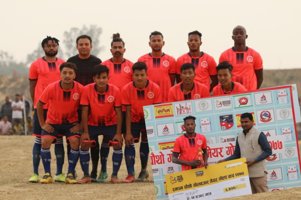 Rumpum 4th Golbazar Mayor Cup: Hosts Golbazar Pratibha Club Enters SFs