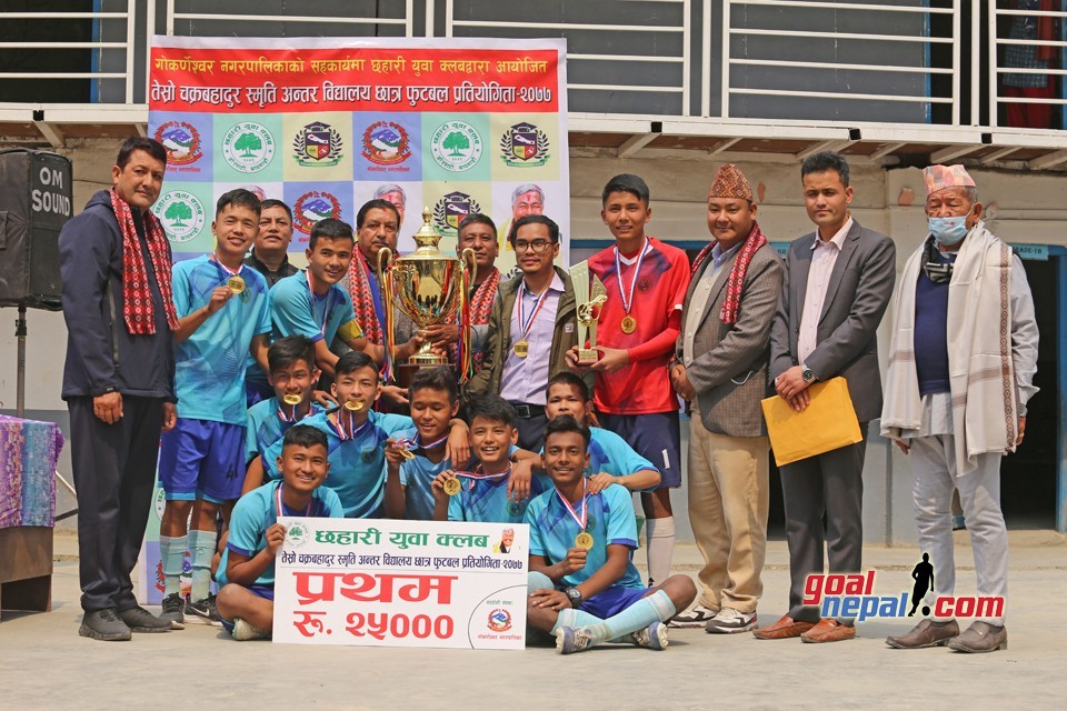 Kathmandu: Holy Angels Public School Clinches Title Of 3rd Chakra Bahadur Memorial Cup