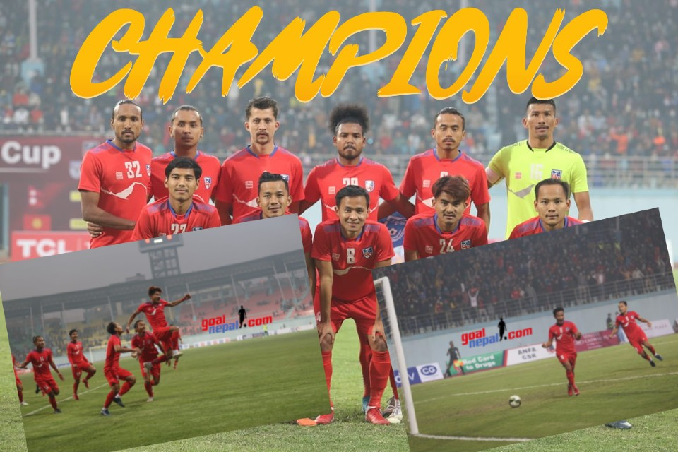 Nepal Beats Bangladesh To Lift The Title Of Tri-nation Cup