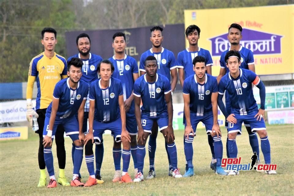Sankata Club Vs African Roots In The Final Of Vishwokarma Cement 11th Jeetpur Simara Gold Cup