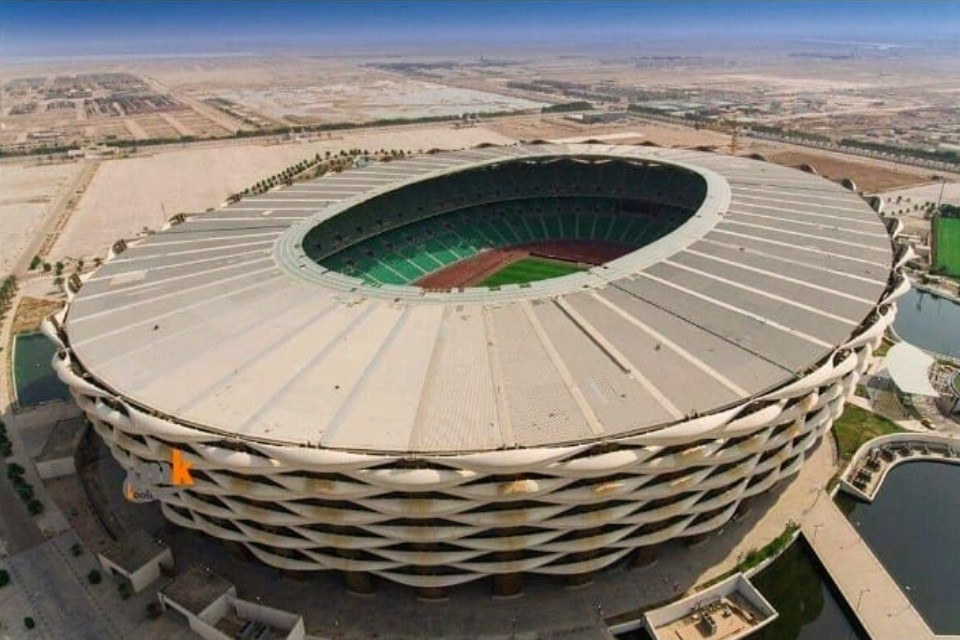 Take A Look Of 65K Seater Basra International Stadium - VIDEO
