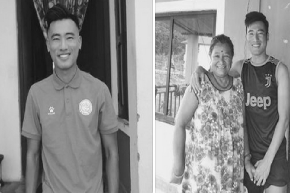 Prolific Striker Umesh Yangma Loses His Mother To COVID Battle