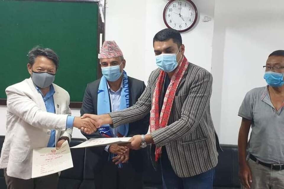 Bagmati Province Government Signs MoU With ANFA For Nrs 1 Crore