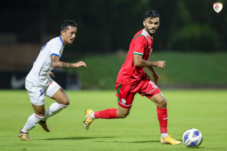 Nepal Goes Down To Higher Ranked Oman In A Friendly Match