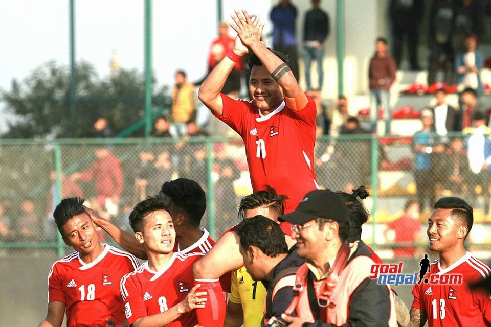 Anil Gurung Farewell At ANFA Complex, Satdobato, Lalitpur