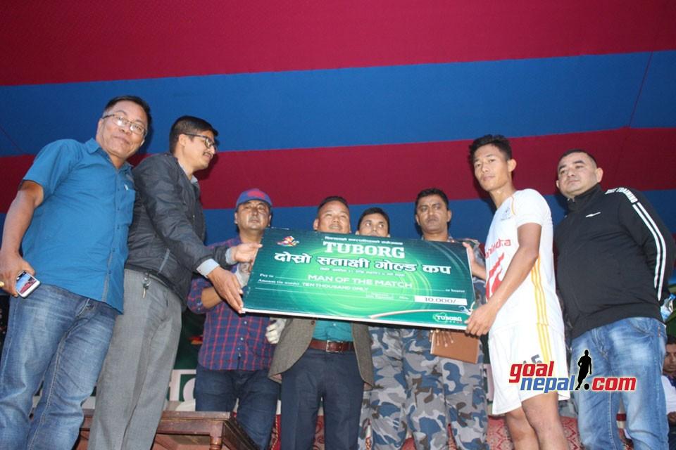 Jhapa: Nepal APF Enters Quarterfinals In Satashi Gold Cup