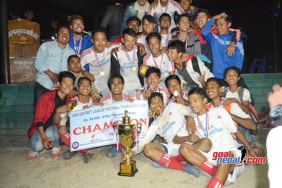Hetauda: FC Internet Wins Title Of Makwanpur District League