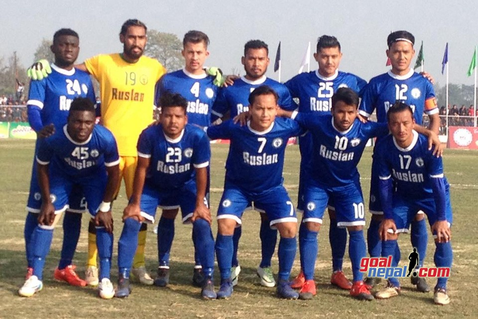Madan Bhandari Memorial Itahari Gold Cup: Ruslan Three Star Club Vs Nepal APF