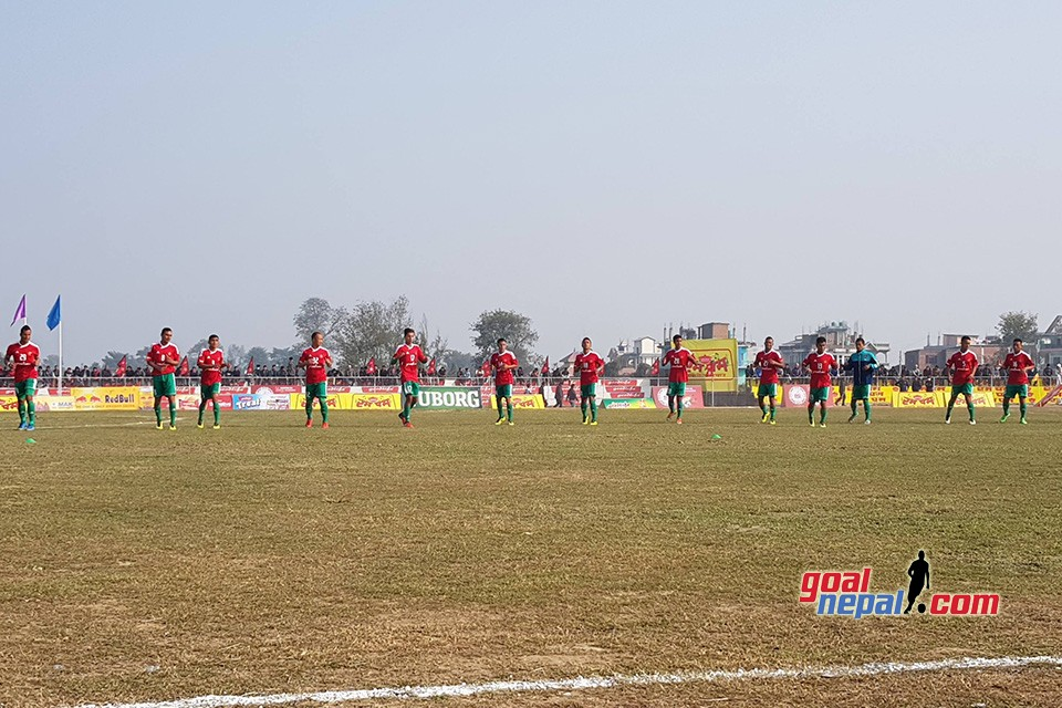 Madan Bhandari Memorial Itahari Gold Cup: Nepal Army vs Druk United