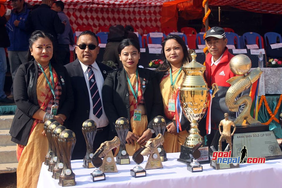 16th Aaha! RARA Gold Cup: Sahara Club vs Far West XI