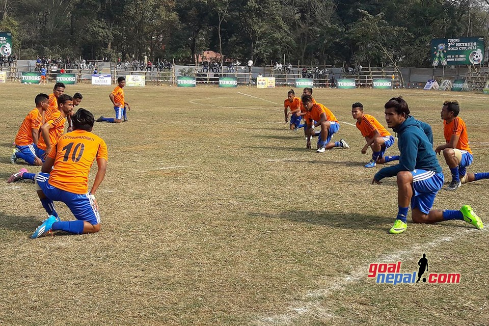 3rd Hetauda Gold Cup: Nepal Army Vs Far West XI