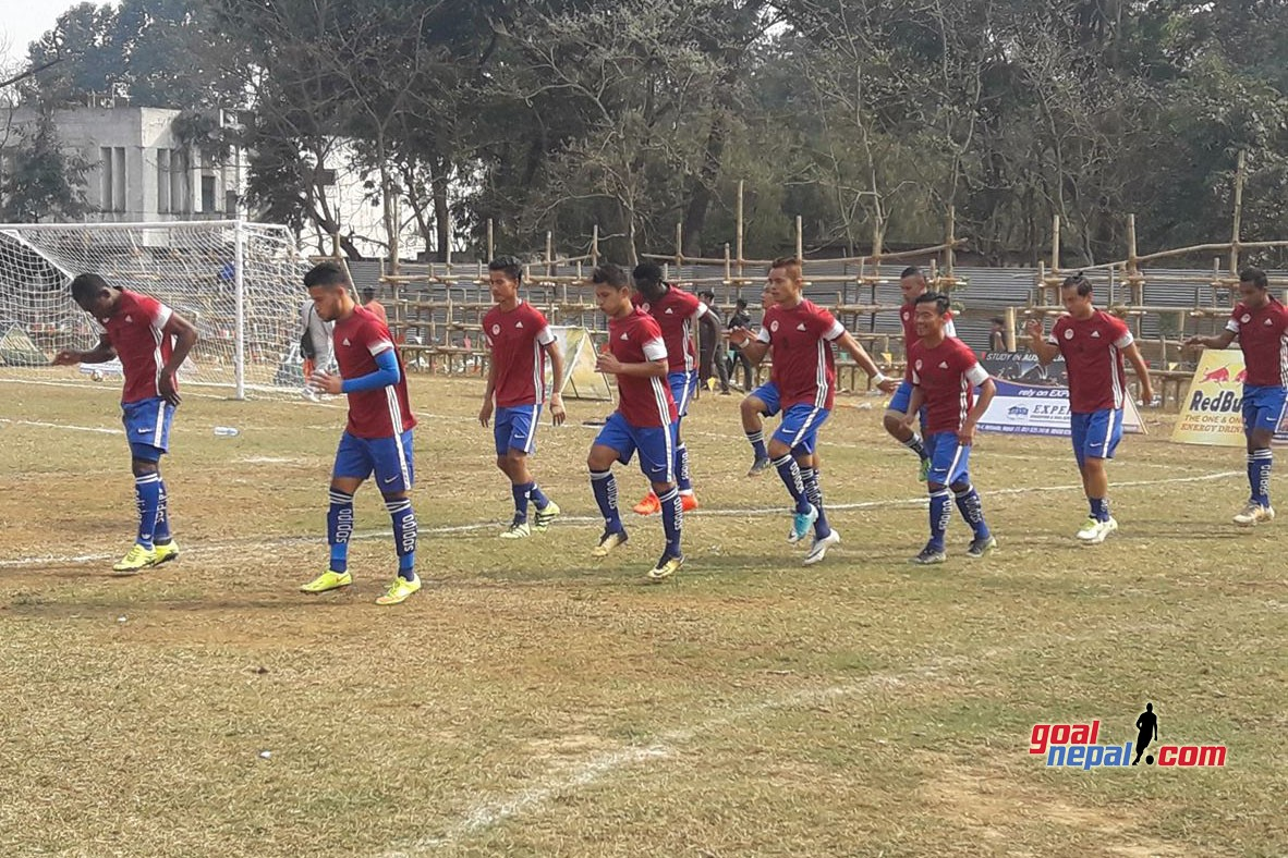 3rd Hetauda Gold Cup: Nepal Police Club Vs Sankata Club