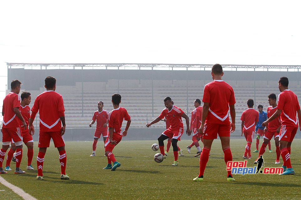 Nepal National Team Begins Training For Yemen Clash