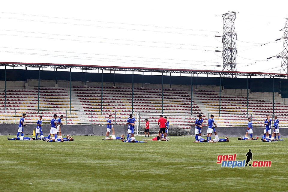 Nepal National Team's Without Ball Training  Session
