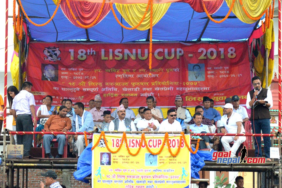 18th Lisnu Cup Kick Off