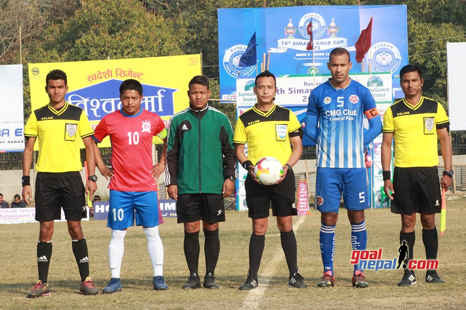 Ruslan 10th Simara Gold Cup: Sankata Vs Saraswoti Youth Club