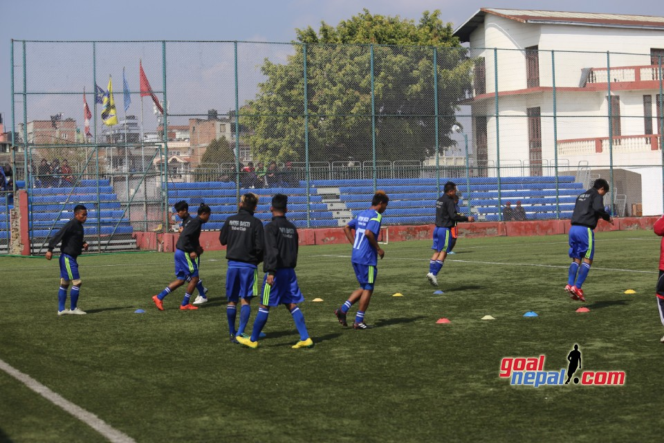 Martyrs Memorial 'B' Division League: Nayabasti Youth Club Vs Shree Kumari Club