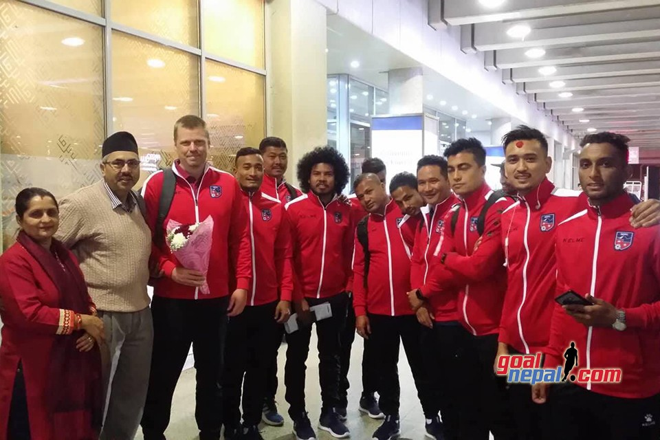 Nepal Lands Kuwait For A Friendly Match