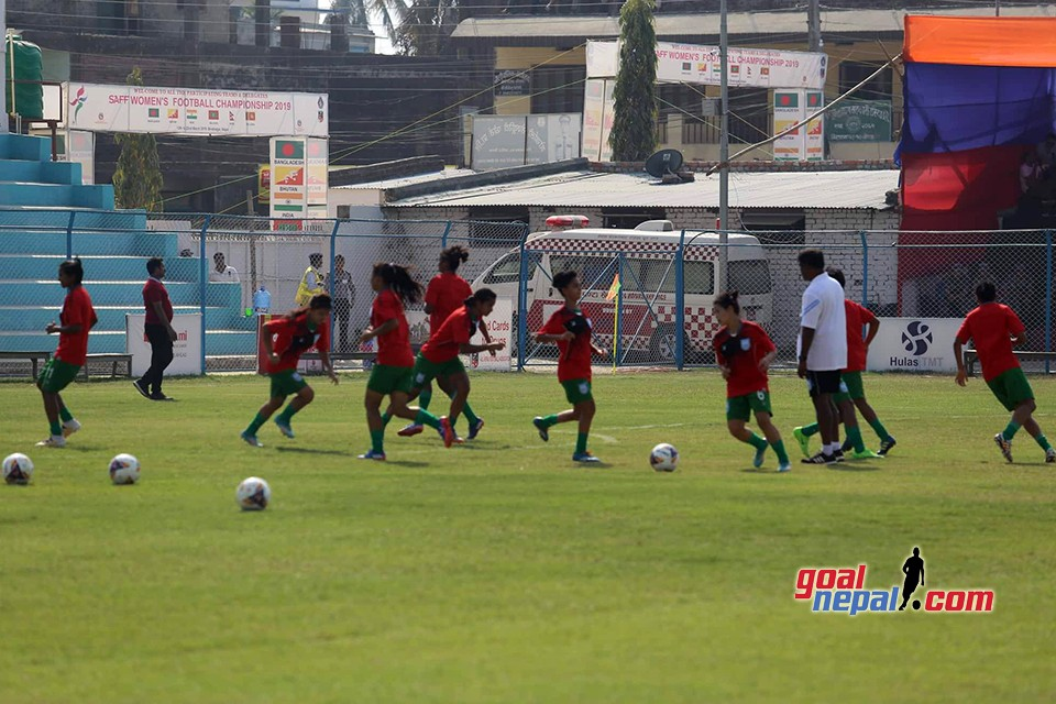 SAFF Women's Championship: India Vs Bangladesh