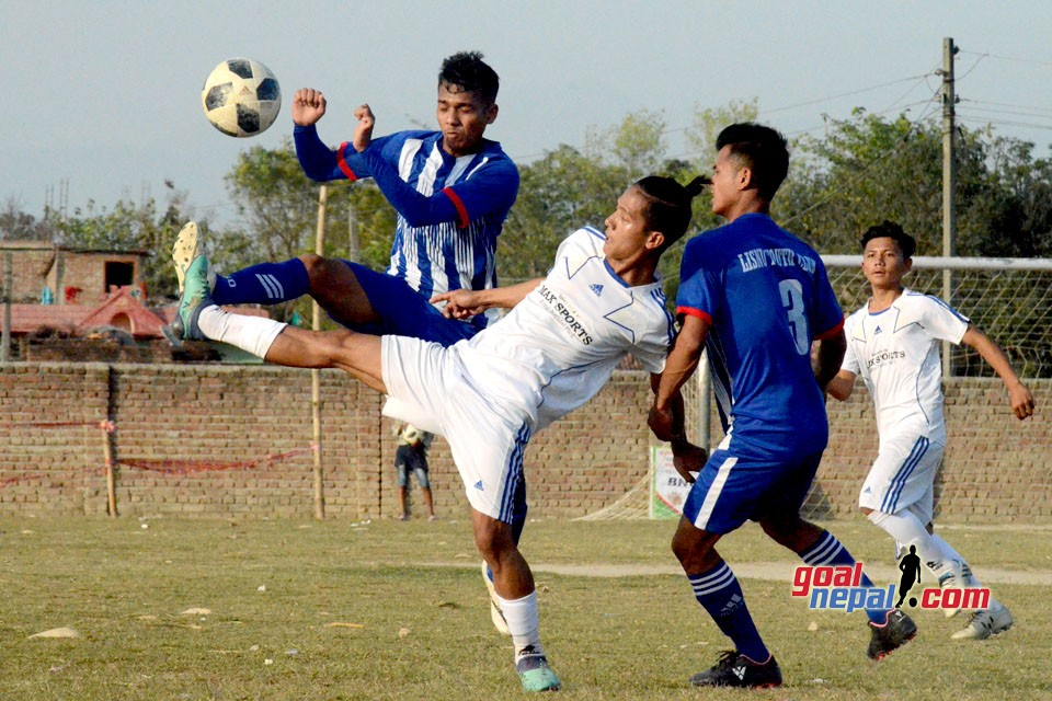 9th Nawayuwa Cup : Bhairav Sports Club 2-0 Lisnu YC