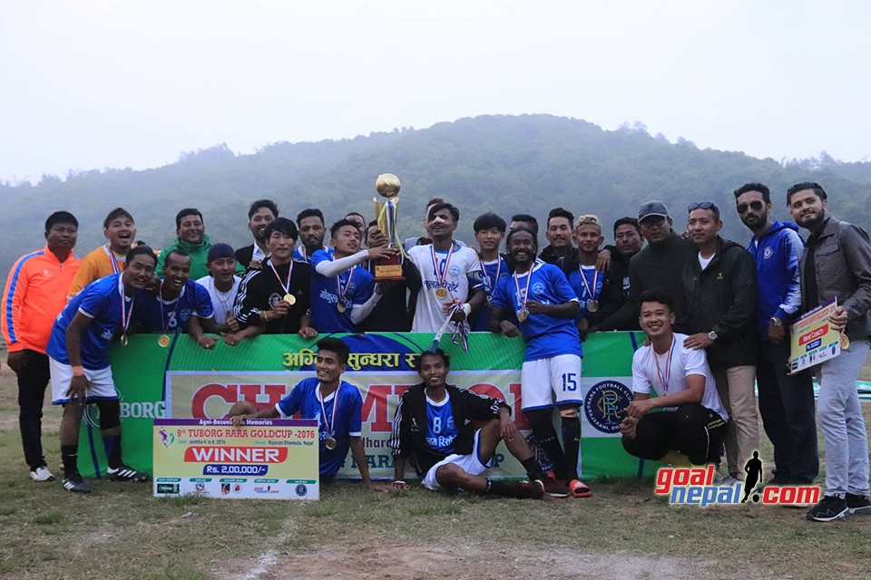 Sagarmatha Youth Club Wins 9th Tuborg Rara Cup