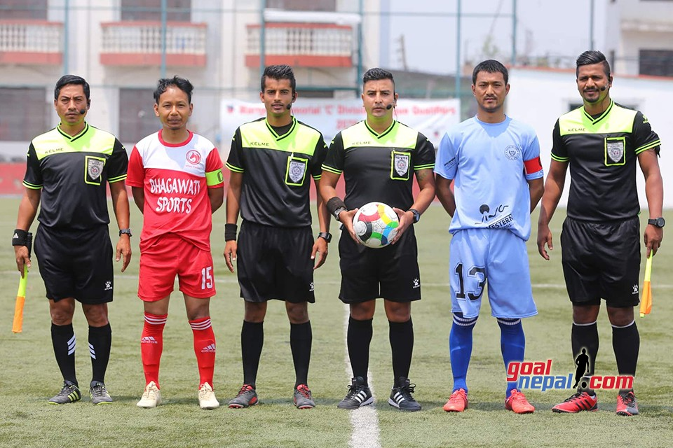 C Division League Qualifiers: Imadole Youth Vs Lalitpur 4 Unified Varsity