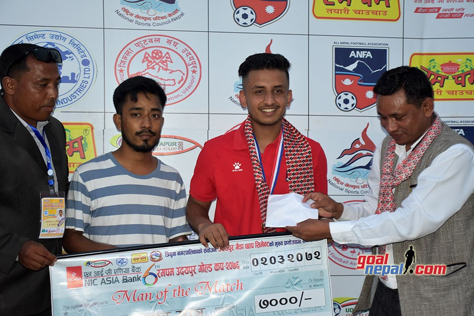 6th Rumpum Udayapur Gold Cup: Morang Beats NPC To Enter SFs