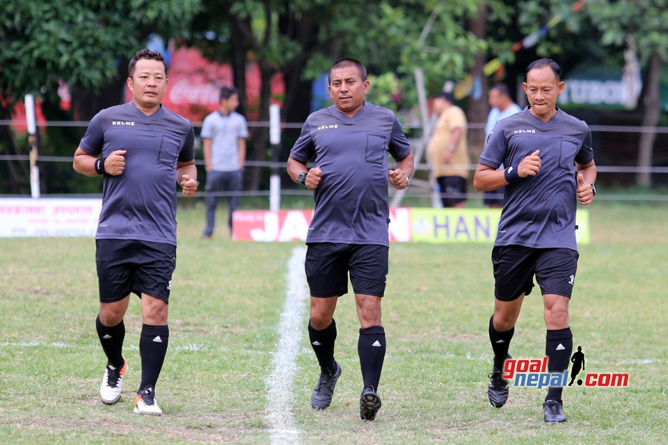 Hanami 5th Chitwan Championship: Junior Police Officer College Vs Desh Bhakta FC