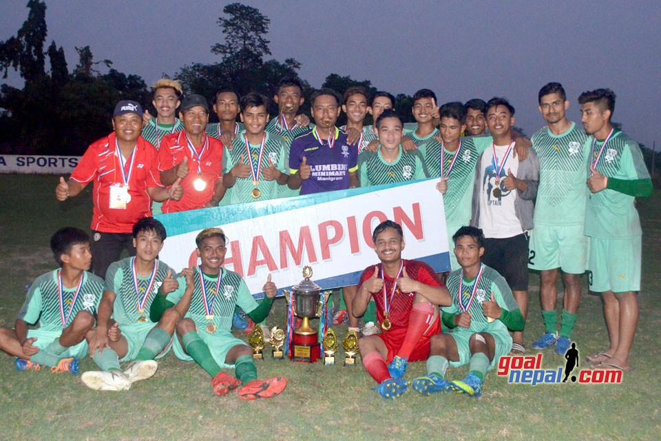 Jharna Sports Club Wins Title Of Rupandehi District League