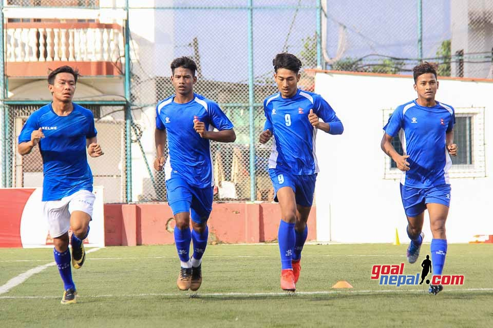 Nepal National U23 Football Team Training