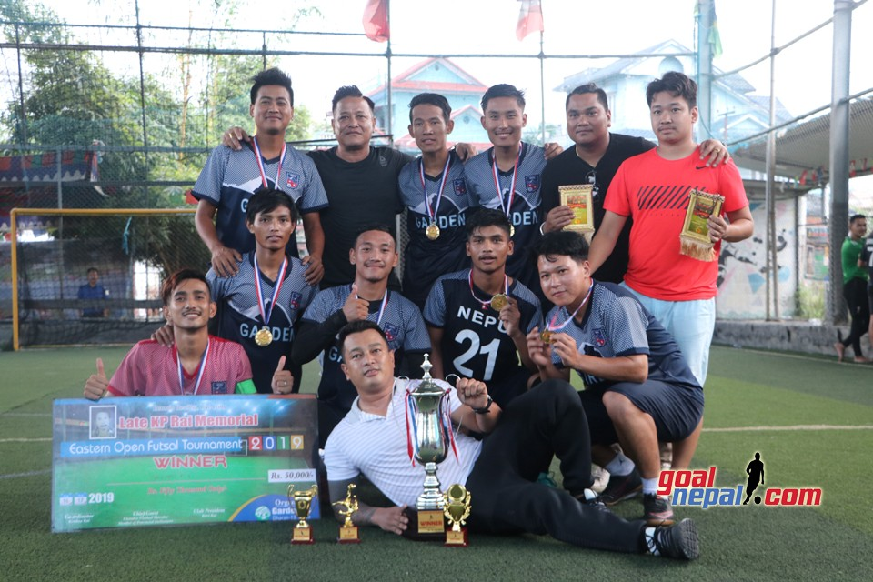 Garden FC Wins Title Of KP Rai Memorial Futsal Tournament