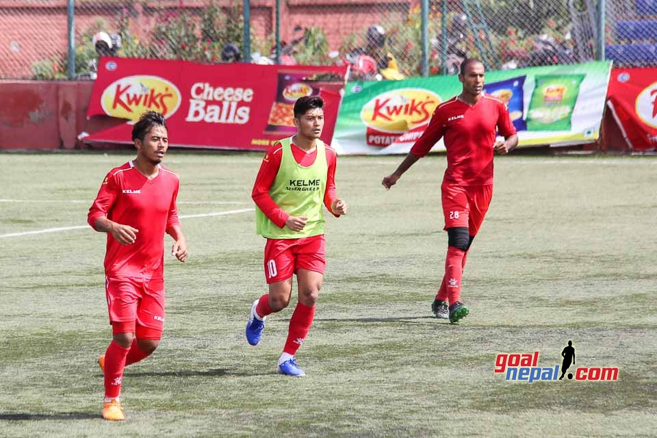 Nepal National Football Team Training