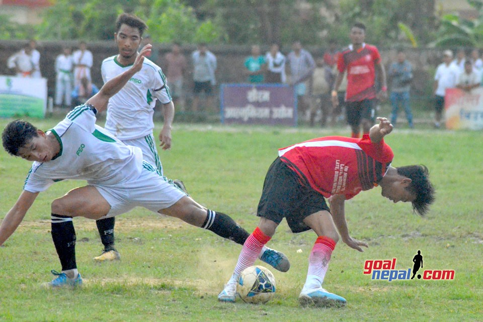 19th Lisnu Cup : Fulbari Guyz Vs Lisnu Youth Club (Photos)