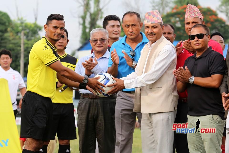 1st International Chitwan Veterans Cup:  Royal FC (Darjeeling)  Won The Title