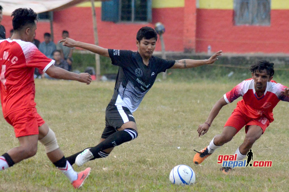 3rd NYC Cup : DMC Vs Tilottama Boys (Photo)