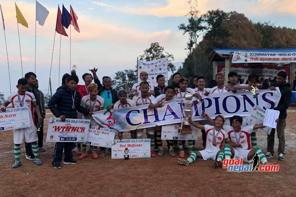 Hosts Kummayak Sporting Club Wins Title Of 3rd Kummayak Gold Cup