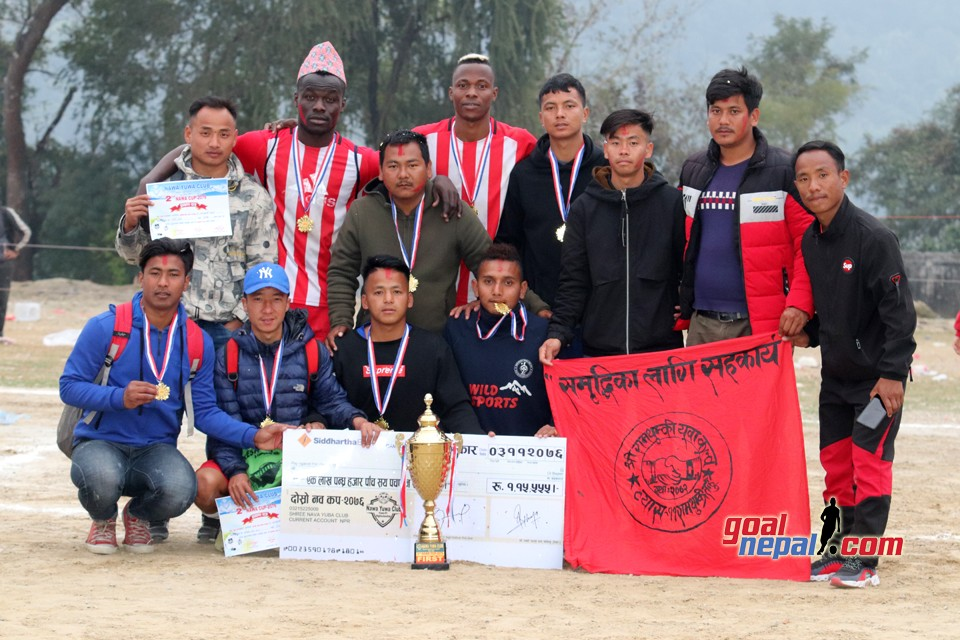 Ramthumki Yuwa Club Won Title Of 2nd NAWA CUP 7-A Side Football Tournament