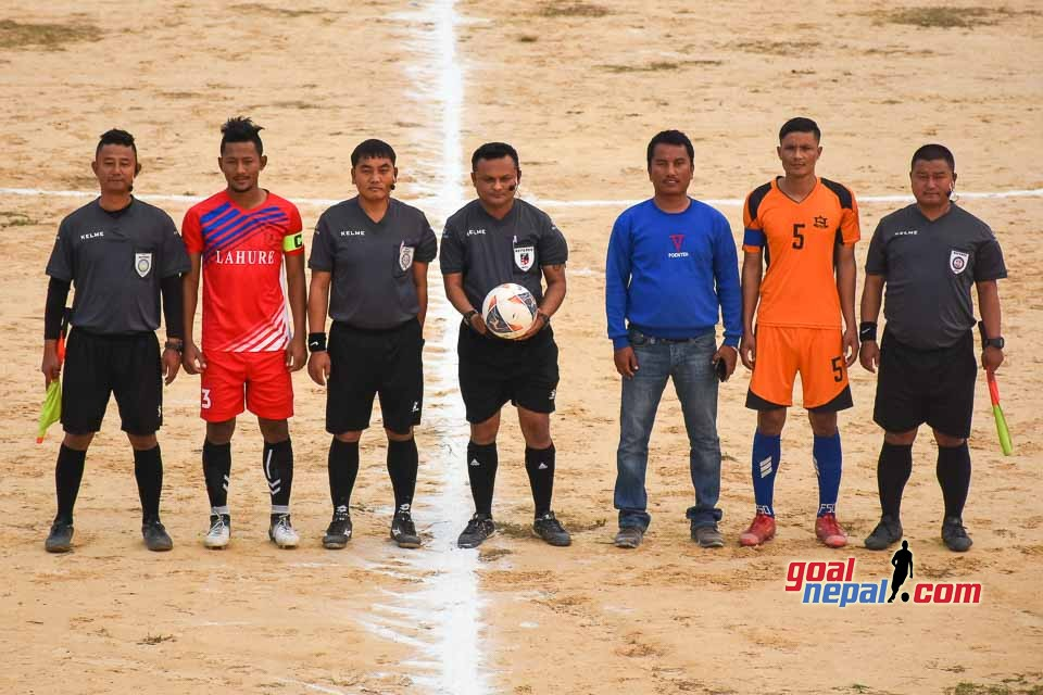 3rd Golbazar Mayor GoldCup 2076 Kicks Off