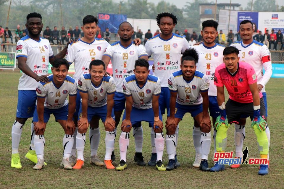 3rd Satashi Goldcup: Machhindra FC Vs Gorkha Boys Club