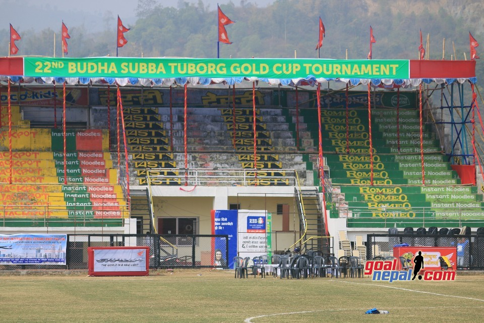 Sunsari: Dharan Stadium is ready for 22nd Budasubba Gold Cup.