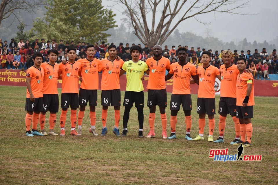 3rd Bagmati Gold Cup: Himalayan Sherpa Vs Chyasal Youth | MATCH PICTURES