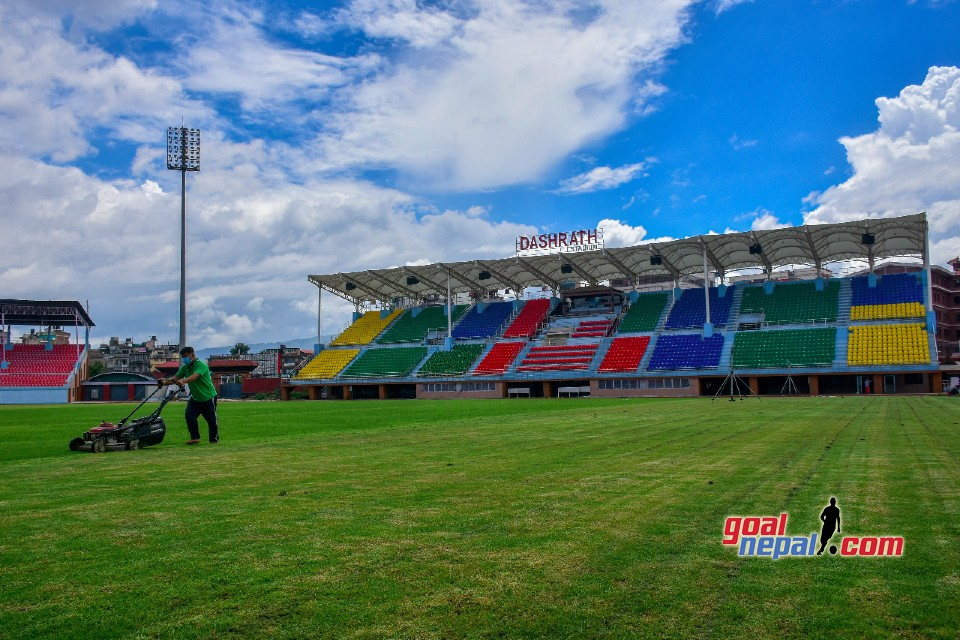 Dasharath Stadium Is Getting Ready For FIFA World Cup Qualifiers