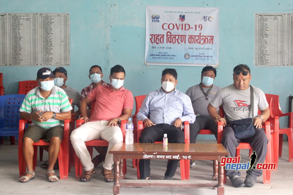 Rupandehi DFA Provides COVID Relief To Players