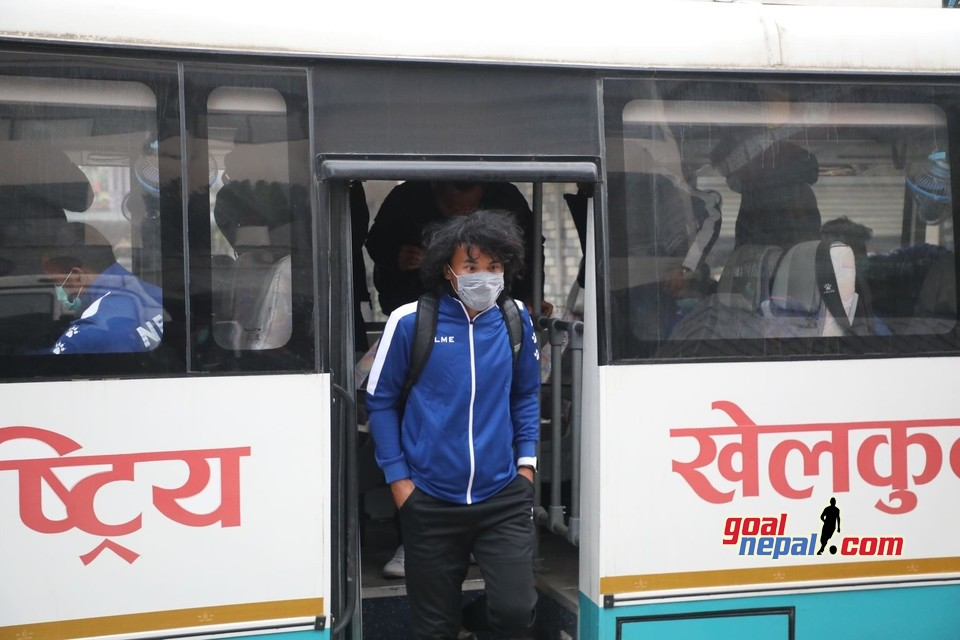 Nepal National Team Arrives Pokhara