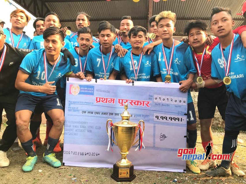 Shree Chautara Club  won  11th  Waka Football Tournament